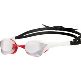 arena Cobra Ultra Mirror Goggles silver-white-red